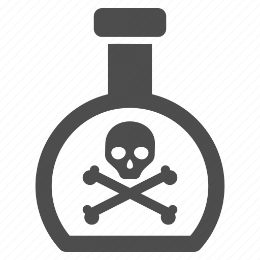 caution, chemical, danger, hazard, poison, risk, toxic icon