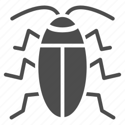bug, cockroach, cucaracha, insect, parasite, pest, tick icon