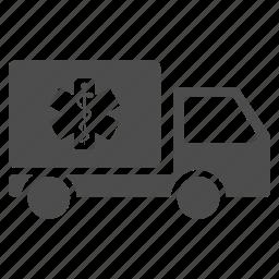 deliver, logistics, medicine delivery, shipment, shipping, transportation, truck icon