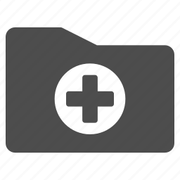 archive, directory, document, healthcare, medical folder, medicine, storage icon