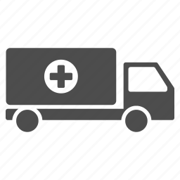 alert, ambulance, medical help, medicine, mobile hospital, transport, transportation icon