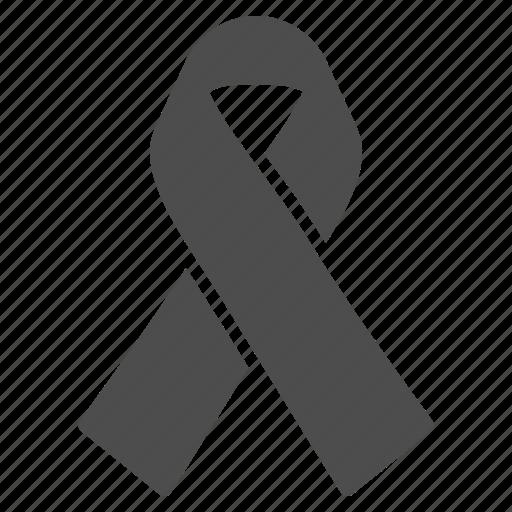 achievement, award, decoration, hiv ribbon, solidarity, tag, tie icon