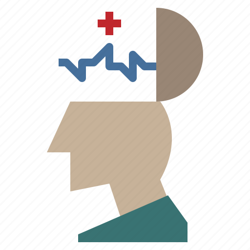 brain, healthcare, medical, mental, psychology icon