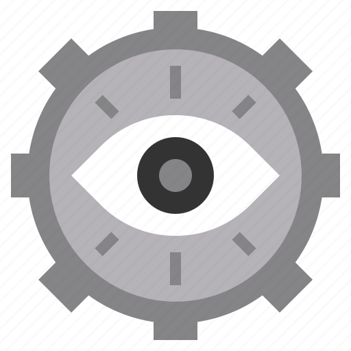 Eye, medical, random, spiral, vision icon - Download on Iconfinder