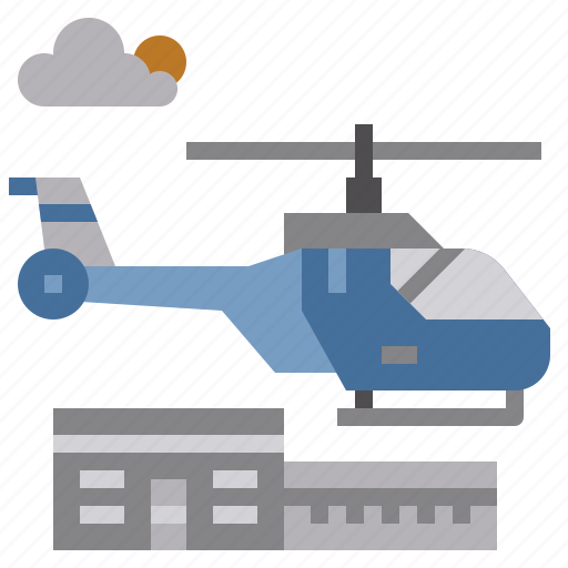 aircraft, flight, fly, helicopter, medical, transport icon