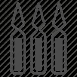 ampoule, ampoules, drug ampule, stimulant glass, vaccine, vessel, vial icon