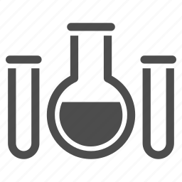 analysis, chemical container, chemical glass, chemistry, flask, retort, test tube icon