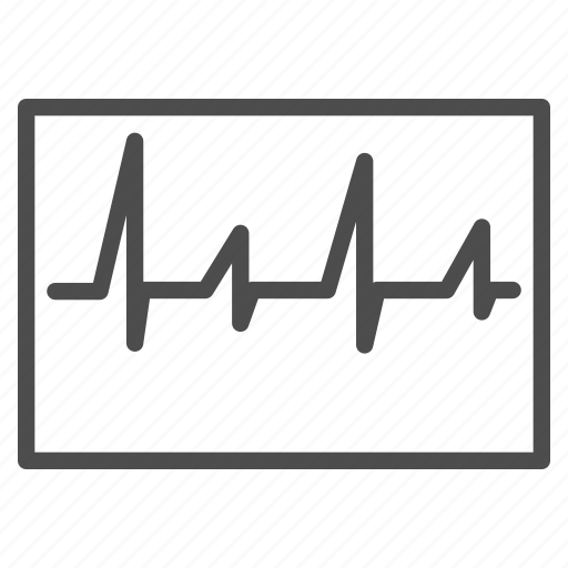 ambulance, cardiogram, chart, emergency, heart pulse, heartbeat, medical graph icon