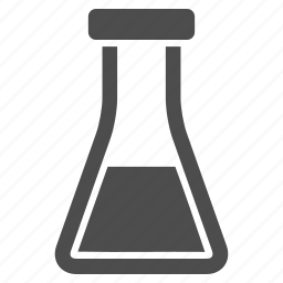 chemical container, chemistry, flask, laboratory, retort, science, test tube icon