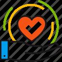 care, hand, health, healthcare, heart, insurance, medicine icon