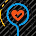 head, health, healthcare, heart, medicine, mental, psychology icon