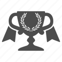 achievement, award cup, medal, reward, trophy, win, winner icon