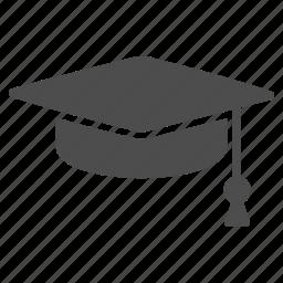 degree, education, gaduation cap, knowledge, learning, study, university icon