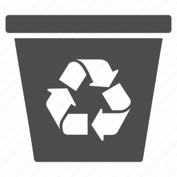 basket, clear, delete, dustbin, recycle, recycle bin, trash icon