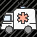 siren, car, ambulance, emergency icon