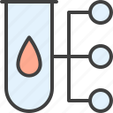 blood, group, laboratory, medical, test icon
