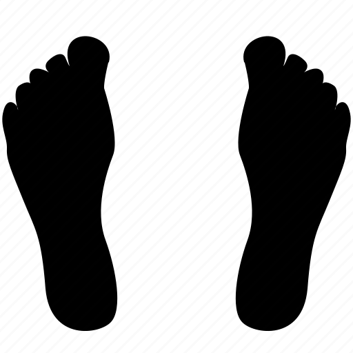 body, foot, footstep, human, legs icon