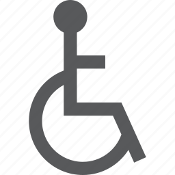 disabled, medicine, sign icon
