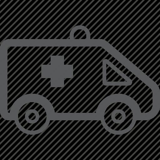 car, medicine icon
