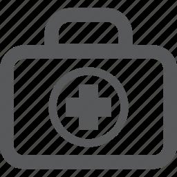 chest, medicine icon