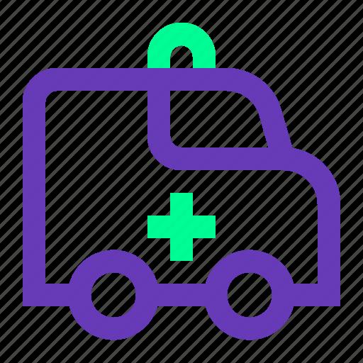 ambulance, application, health, medical, ui, ux, web icon