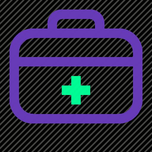 bag, health, medical, medicine, ui, ux, web icon