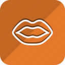 anatomy, bodypart, healthcare, human, medical, medicine, lip icon