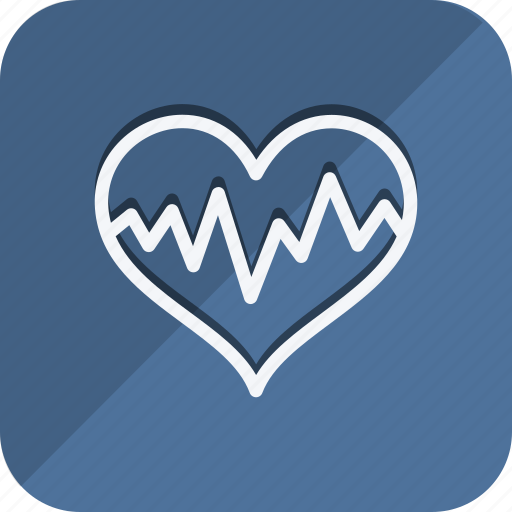 bodypart, cardiogram, healthcare, heart, human, medical, medicine icon