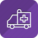 ambulance, anatomy, bodypart, healthcare, human, medical, medicine icon