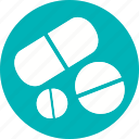 capsule, drug, medicale, medication, medicine, tablet icon