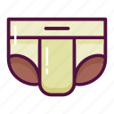 baby, diaper, elderly, hygiene, infant, newborn, underpants icon