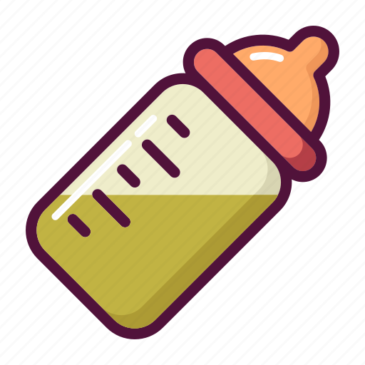 baby bottle, bottle, feed, food, infant, newborn, pacifiers icon