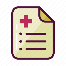contract, doctor, doctor prescription, document, documents, paper, to-do list icon