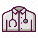 ambulance, doctor, hospital, medical, medicine, nurse, uniform icon