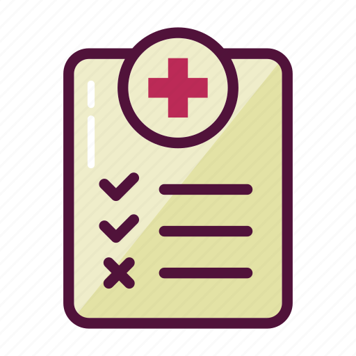doctor, healthcare, history, hospital, medical, questionnaire, symptoms icon
