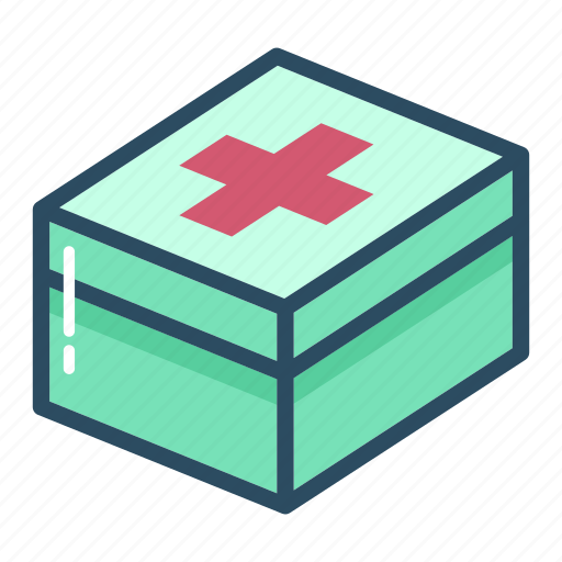 aid, box, first aid kit, healthcare, medical, medicine, pharmacy icon
