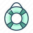 health, healthcare, insurance, lifebuoy, rescue, safety, ship icon