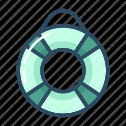 health, healthcare, insurance, lifebuoy, rescue, safety, ship icon