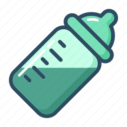 baby, baby bottle, bottle, food, infant, newborn, pacifiers icon