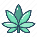 cannabis, drugs, leaf, marijuana, medical, medicine, plant icon