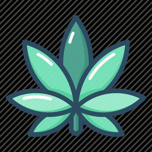 cannabis, drugs, leaf, marijuana, medical, medicine, plant icon