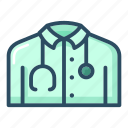 costume, doctor, hospital, medical, medicine, nurse, uniform icon