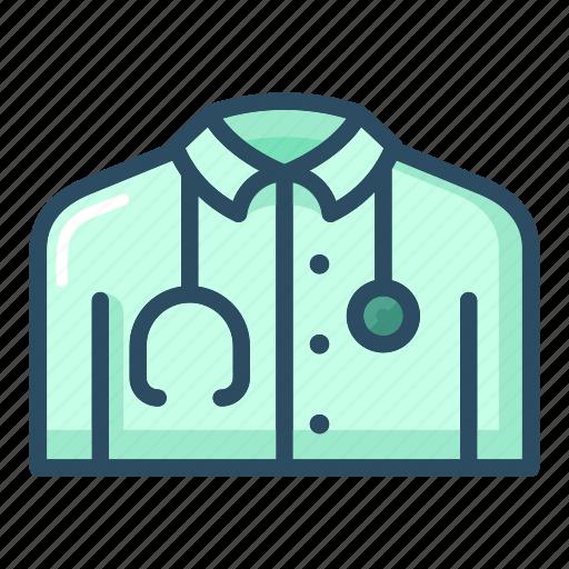 costume, doctor, hospital, medical, medicine, nurse, uniform icon