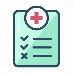 doctor, health, health care, history, medical, questionnaire, symptoms icon