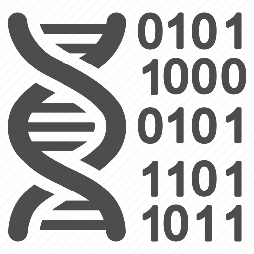 biotech, dna molecule, genetic engineering, genetics, genome, helix, spiral icon