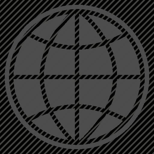 earth, global, globe, international, planet, web, world icon