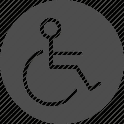 disable, gap, handicap, invalid, wheelchair icon