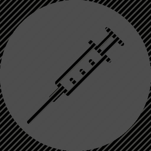 drug, injection, medicine, steroid, syringe icon