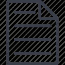 document, file, medicine, page icon