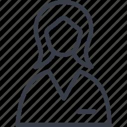 avatar, doctor, female, girl, medicine, profile, woman icon